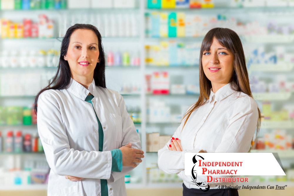 two female pharmacist