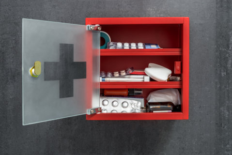 First Aid Inside Your Medicine Cabinet